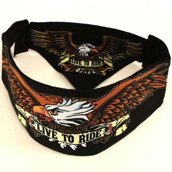 biker headbands | Choptop Bandana Head Wrap Headband Live to Ride Biker | eBay