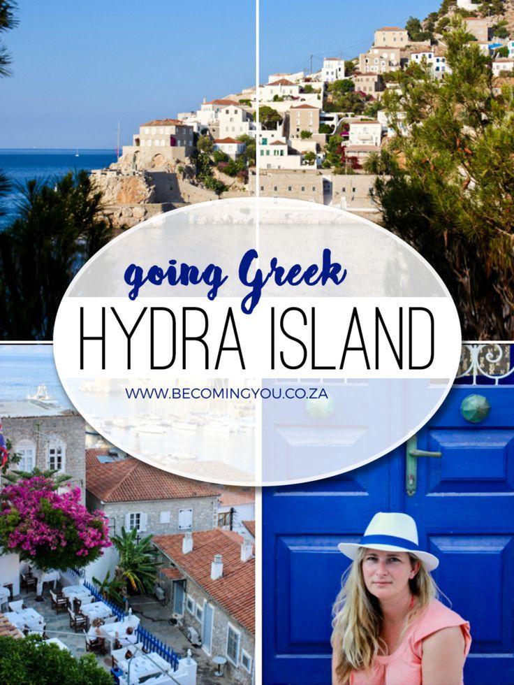 Going Greek: Hydra Island (Ýdra)