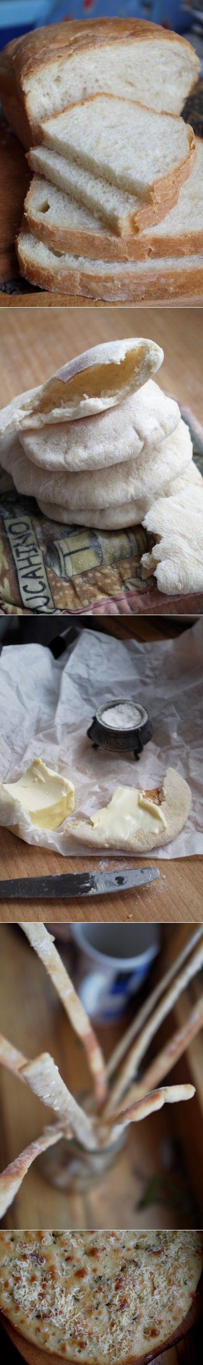 Из одного теста. Хлеб, питы, чипсы, фокачча. - lenkazhestyanka