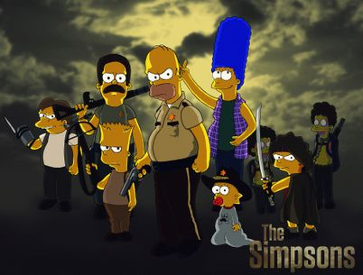 THE WALKING SIMPSONS » Comics