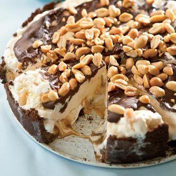 Goo Goo Cluster Pie, a frozen treat - get the taste of a Goo Goo Cluster in pie form!