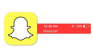 """Why Is There A Red Bar Saying Snapchat At Top Of Screen Banner?  If you're seeing the red bar that says """"Snapchat"""" at the top of your screen you're not alone. To remove the banner turn off your microphone in your Snapchat settings. The notification pops up to remind you that there are background apps running on your device. With other apps you can't disable the notification instead you have to close the app to disable to red banner.  In other Snapchat news the company is working hard to…"""