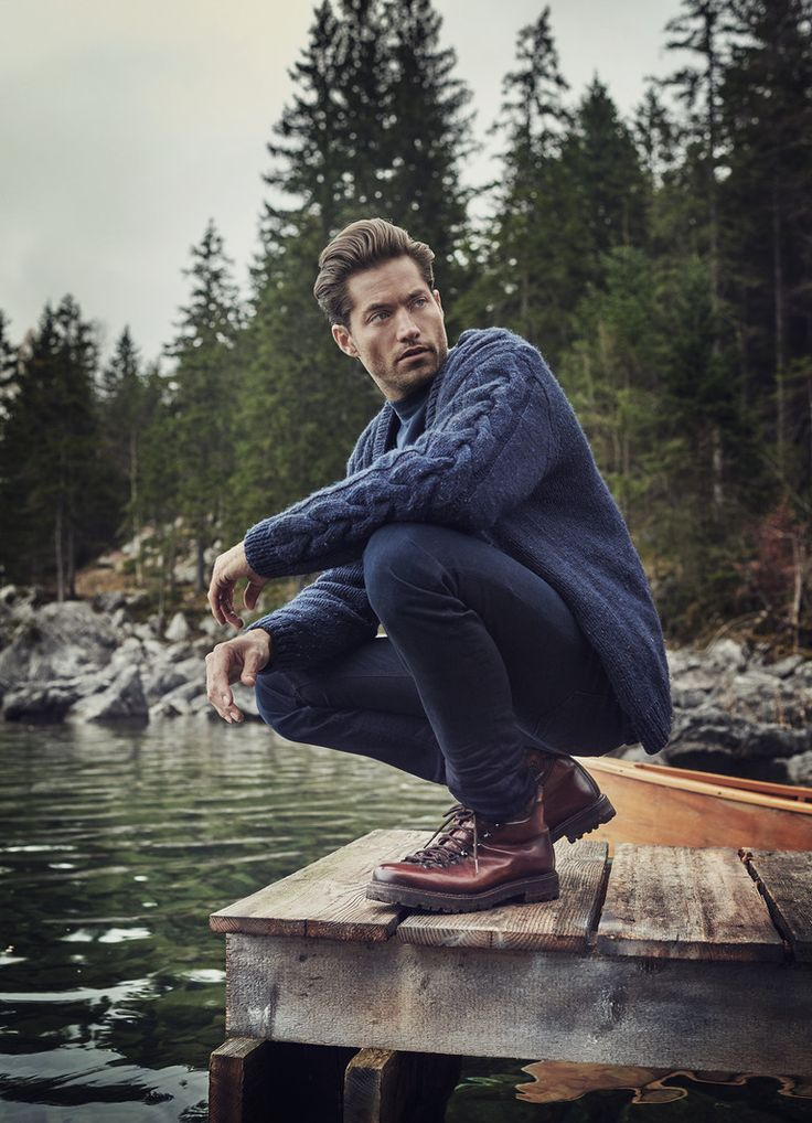 Greg Kheel Embraces Rugged Style for Alberto Pants Fall/Winter 2015