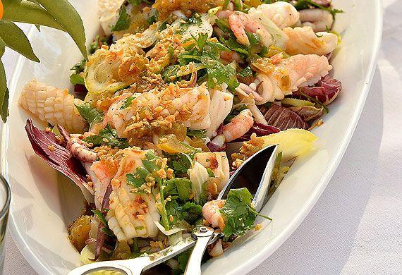 Hawkesbury squid salad recipe - 9Kitchen