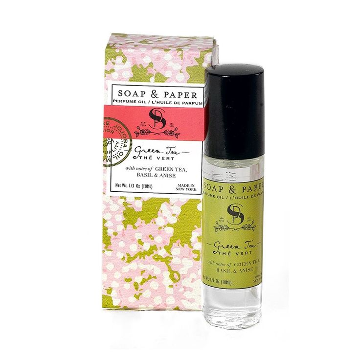 Soap & Paper Factory - green tea perfume oil