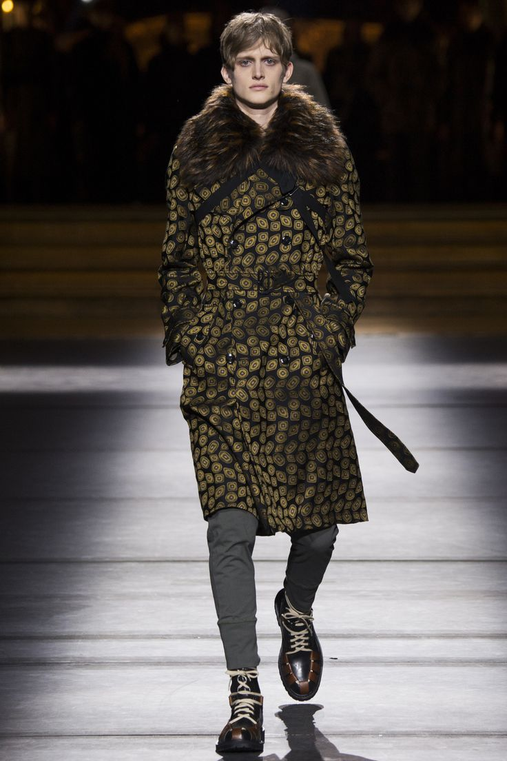 See the complete Dries Van Noten Fall 2016 Menswear collection / #MIZUstyle