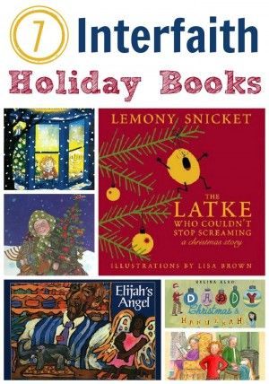 Interfaith Kids Books about celebrating Christmas and Hanukkah.