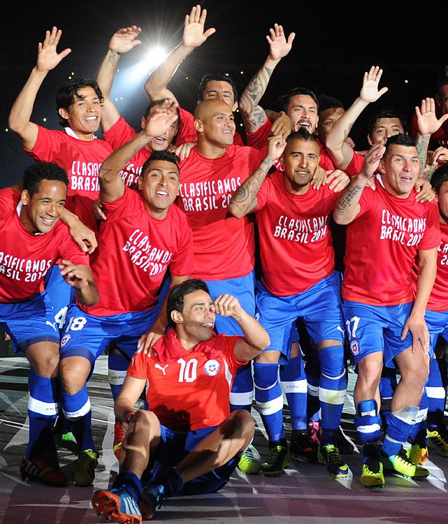 2014 World Cup Qualifying Teams - Chile Oct. 15 Chile defeated Ecuador 2-1 on Tuesday in Santiago, a result that advanced both teams.  Chile finished third in the South American qualifying group with Ecuador in fourth, claiming the two remaining automatic berths from the region. Argentina and Colombia had already qualified as the top two teams.   Read More: http://sportsillustrated.cnn.com/soccer/photos/1309/world-cup-qualifying-teams//14/#ixzz2lH5kz4Mc