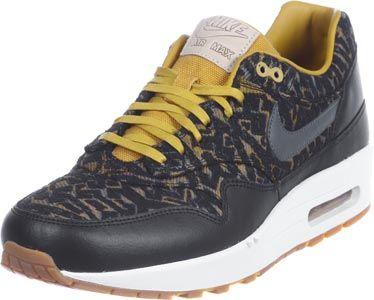 nike air max 1 w schoenen zwart beige