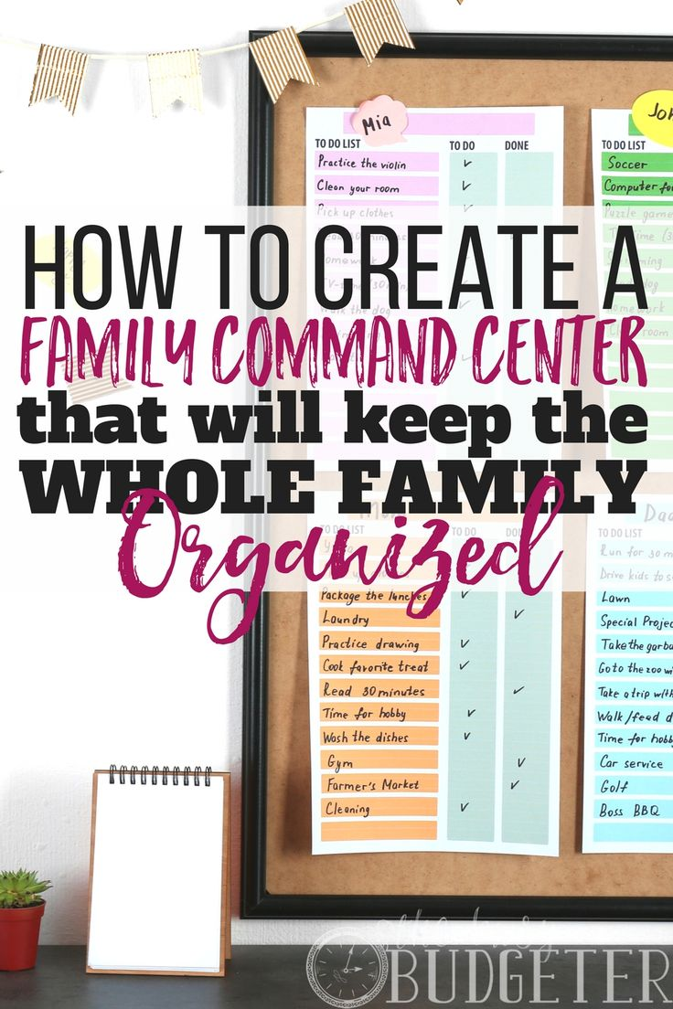 Do you have a #family #command #center? No, I'm actually serious! I thought it was silly at first but oh my goodness-- total game changer. I'm a busy #mom and this totally helps me stay #organized and on time! I can't live without it now!