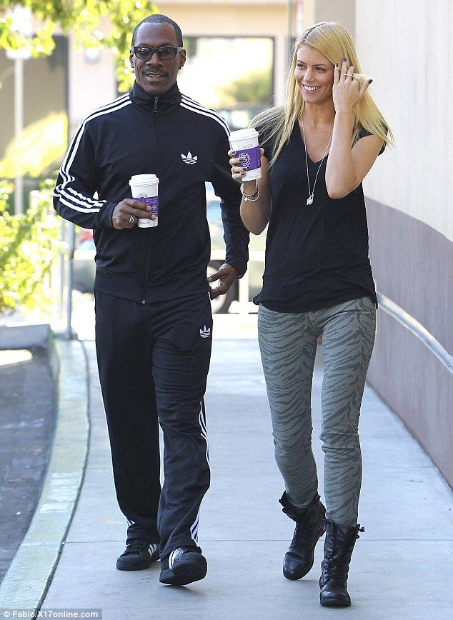 Cup Cakin' With Coffee, Eddie Murphy Takes New Blonde Girlfriend Out on Date