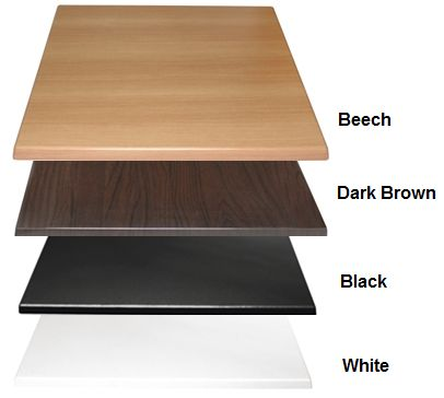 Restaurant Tables - Bolero Indoor 700mm Table Tops - http://www.hoskit.com.au/Furniture/Restaurant-Table/Bolero-Indoor-Table/