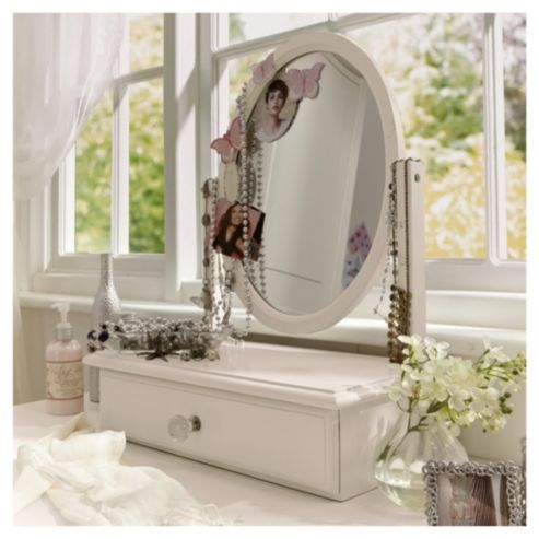 Buy Lille Dressing Table Mirror Ivory From Our Mirrors Range