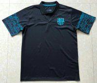 2017-18 Cheap Polo Shirt FCB Replica Football Shirt Cloud Pattern Sleeve