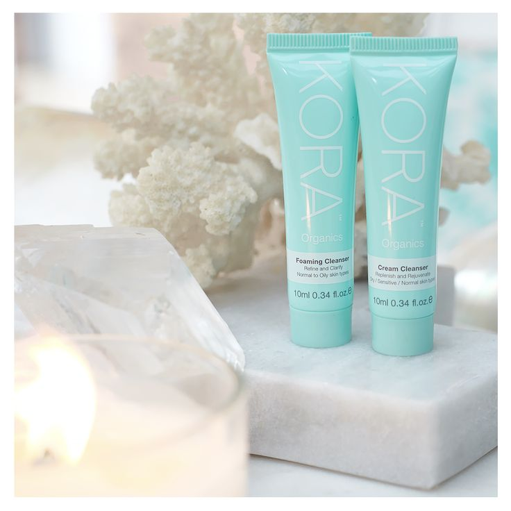 Trial and experience beautiful healthy skin today! Our Cleansers and Day & Night Creams are now available to purchase in a 10mL size. xxx #KORAOrganics