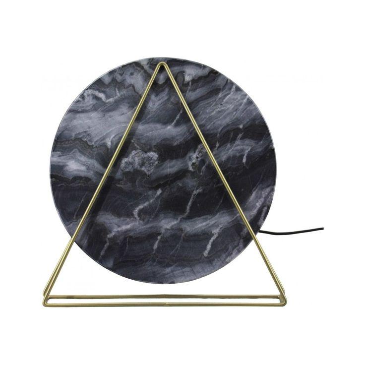 Lampe De Table Carmie 287 Marbre – Taille : Taille Unique