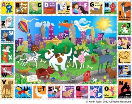 This is just one of many fun kids puzzles from White Mountain Puzzles -- Central Bark - 24 PC Kids Puzzle -