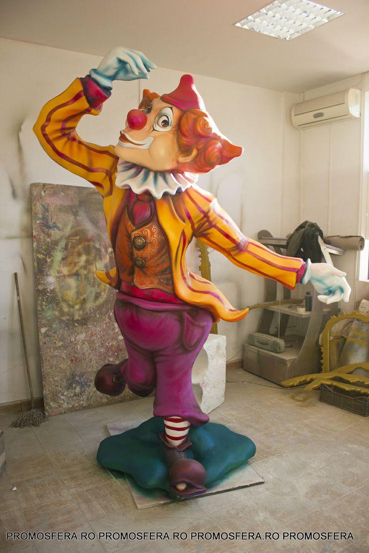 Polystyrene Clown