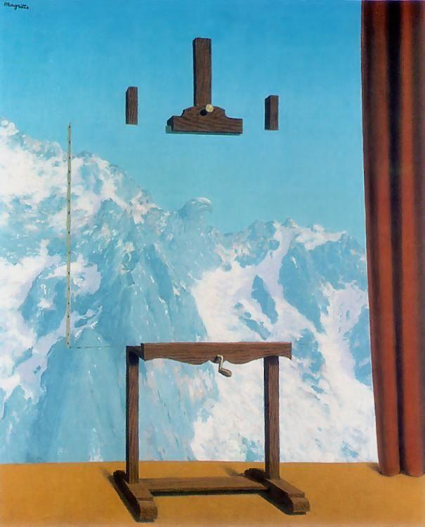 Call Of The Peaks / L'appel des cimes - René Magritte - 1942