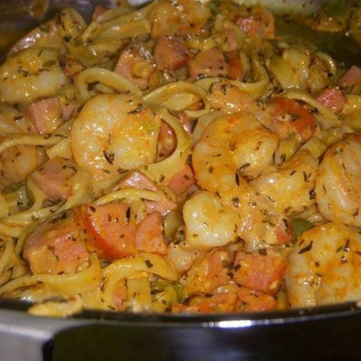 Cajun Shrimp & Sausage Pasta - my daughter-in-law makes this. Sooo good!!