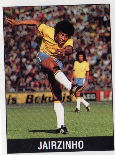 Brazil Jairzinho--panini football trading sticker