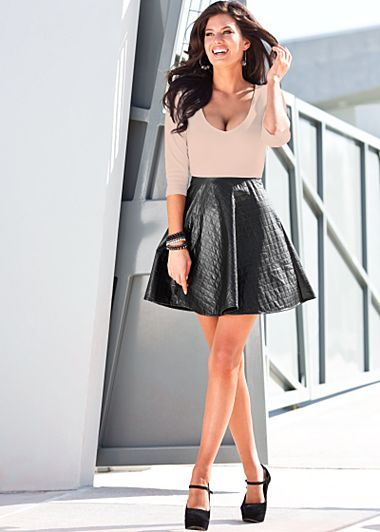 11 best images about Leather skater skirt on Pinterest ...