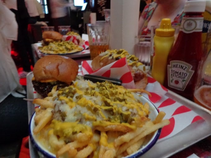 Man Vs Food - Triple Chilli Challenge @ Meat Mission in Hoxton, London