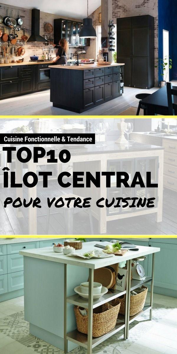 Îlot Central : Le TOP10 Pour Votre Cuisine !    http://www.homelisty.com/ilot-central-cuisine/