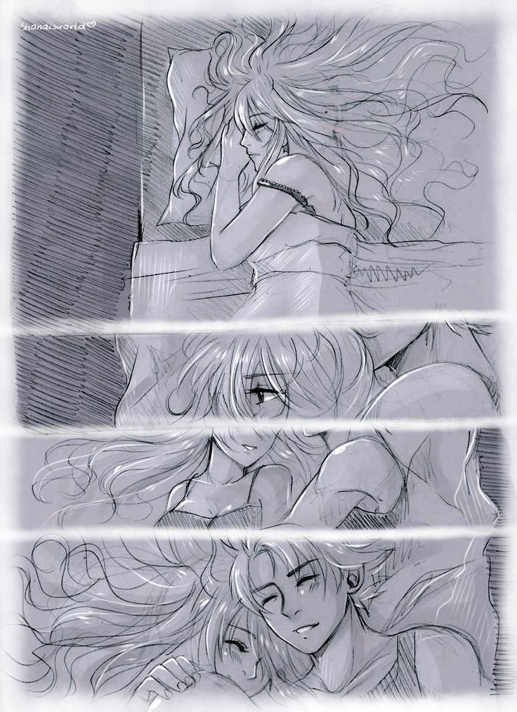 Nalu Cuddle by Shandisworld.deviantart.com on @DeviantArt