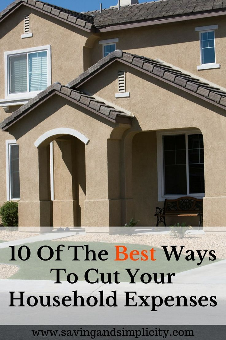 Home is where we raise our family. It can also be one of the most expensive places to be. Learn the 10 best ways to save money on your household expenses.