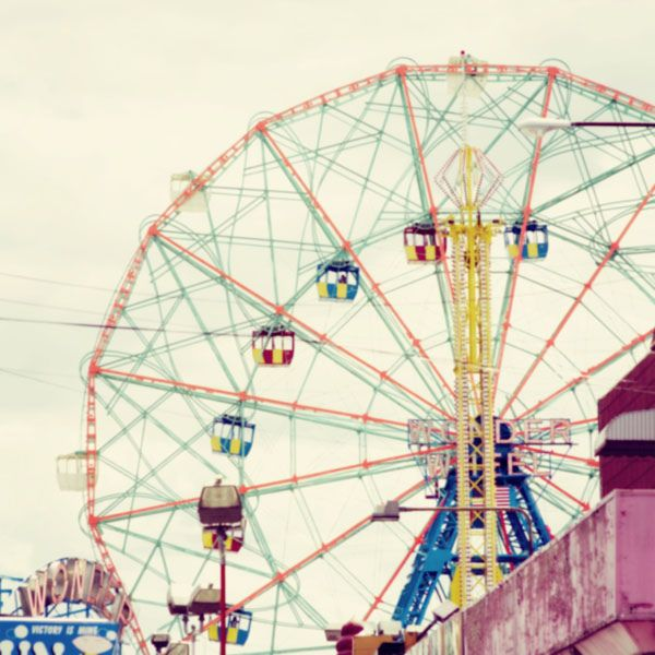 """Ferris wheel....where'd that name come from? Oh, what """"Mr. Ferris"""" invented it?"""