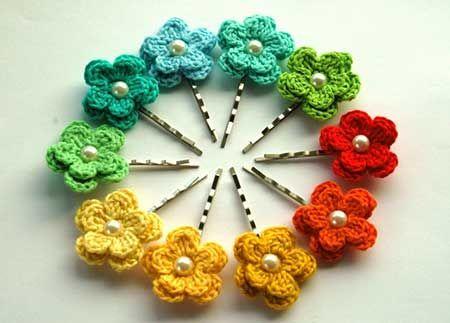 Resultado de imagem para Tecer Flores de Crochê
