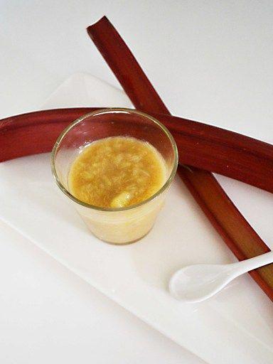 Compote pomme rhubarbe - Recette de cuisine Marmiton : une recette