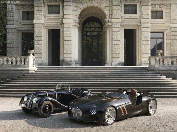 BMW 328 Hommage Concept Artists Inspire Artists 1 610x457 The Gorgeous BMW 328 Hommage Concept