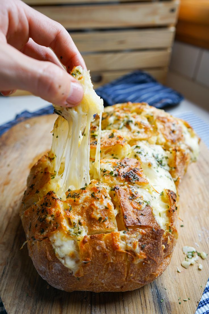 Cheesy Garlic Bread that is so easy to make