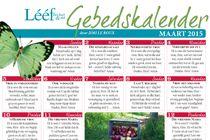 Maart Gebedskalender 2015