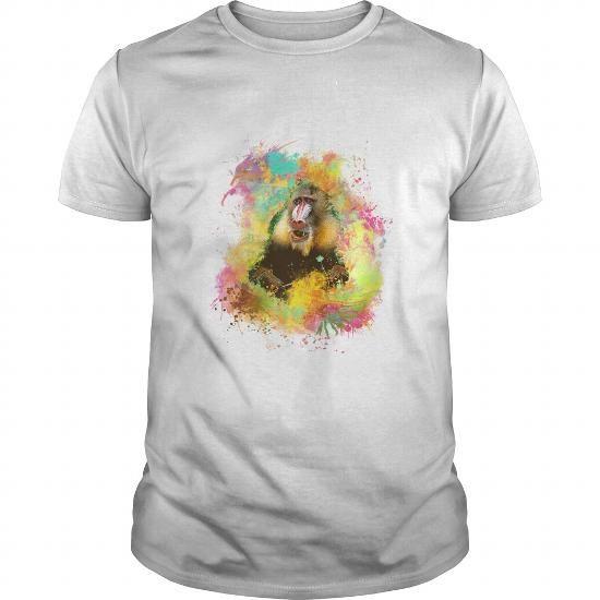 Monkey mandrill…