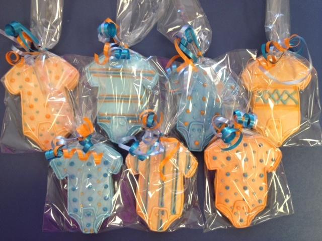 Baby boy onesie cookies by BennysBakeryCakes, via Flickr: Boys Stuffs, Erika Baby, Baby Boys, Photo, Baby Shower