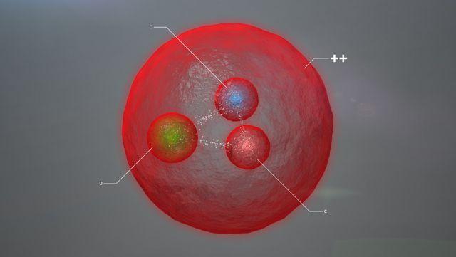 Conheça a Xicc++, uma partícula composta por três tipos diferentes de quarks (Foto: Divulgação)