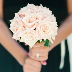 blush roses bouquet bridesmaid - Google Search