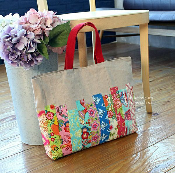 Janice Patchwork Bag PDF Pattern