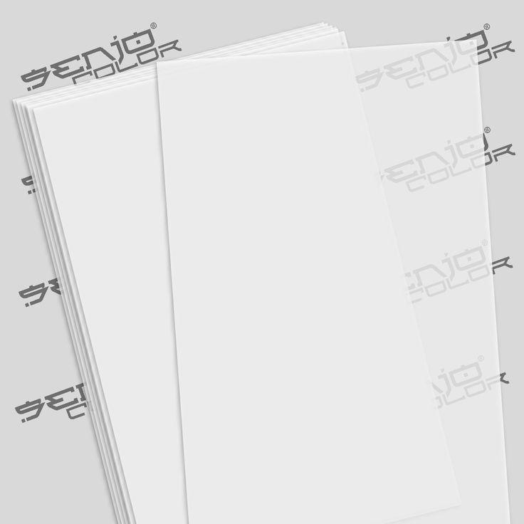 Senjo Schablonenfolie 190µ 10 Bogen A4 zum selber schneiden! #senjocolor