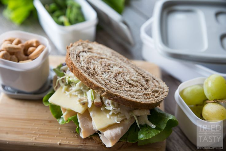 This delicious restaurant favorite made just a little bit healthier! Little bit of crunch, little bit of tang and a whole lot of flavor! Enjoy this specialty sandwich right at home - the perfect quick & easy lunch!