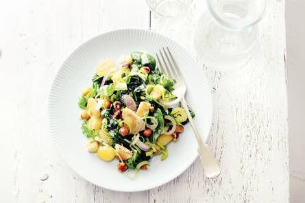 Gnocchi met kip en spinazie - Recept - Allerhande - Albert Heijn