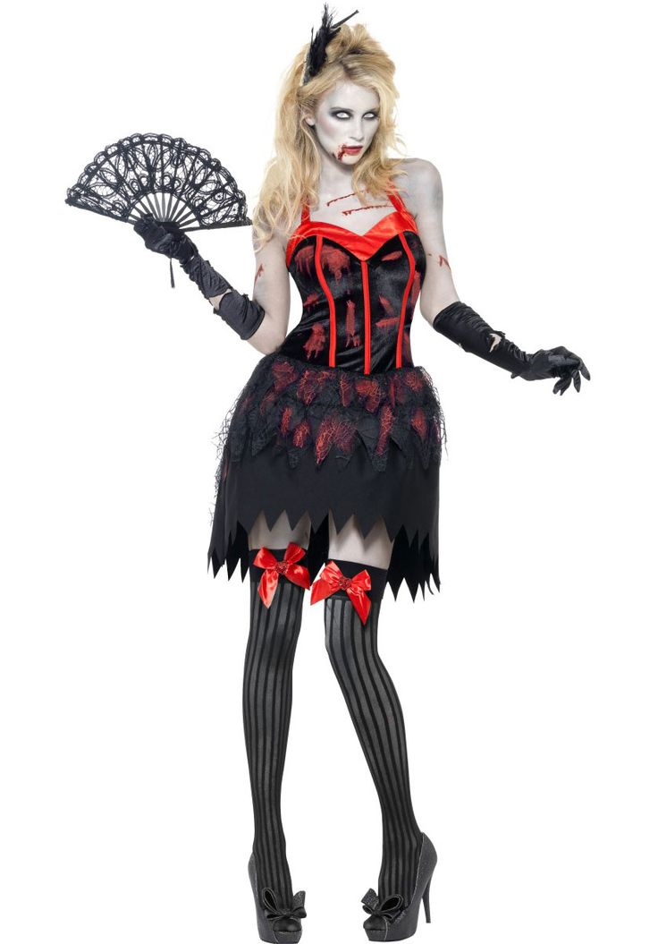 Zombie+Burlesque+Costume,+Fever+Sexy+Fancy+Dress+Collection+-+Halloween+Costumes+at+Escapade™+UK