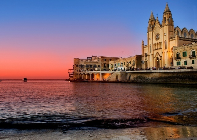 Sliema, Malta.