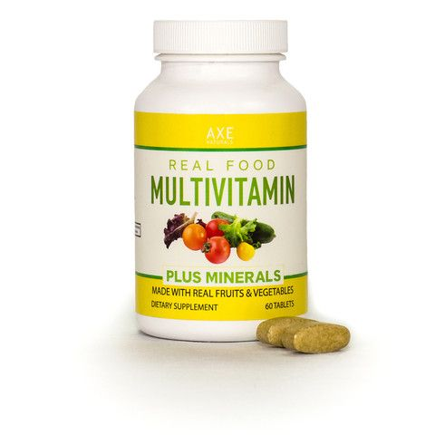 Real Food Multivitamin Plus Minerals® is a complete, RAW supplement derived from whole foods.