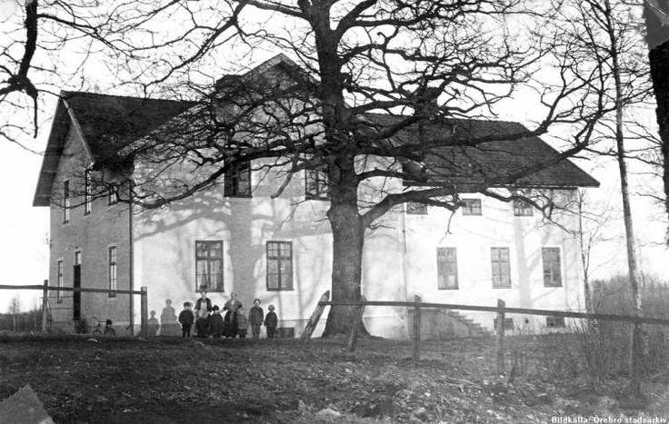 Vintrosa Hus vid Klara Gruvor 1926