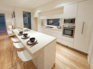 Projects « Greener Kitchens skinny island 4 seats
