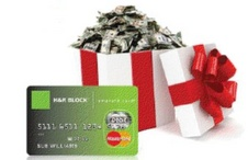 Holiday spending help with H Block's Emerald Advance ($300 Mastercard Gift Card Giveaway) HRBlockLoan